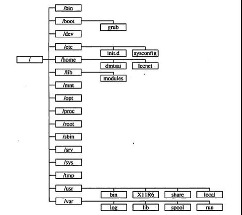 Linux文件系统结构详解