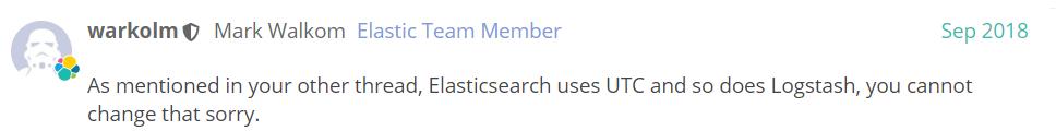 Elasticsearch 滞后8个小时等时区问题,一网打尽!